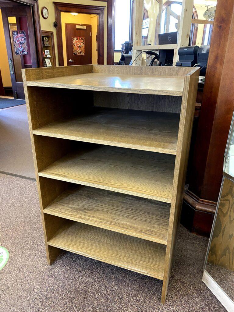 wooden atlas stand